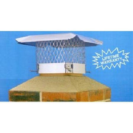 Chimney Cover (Hy-C Stainless Steel Combo Chimney Cover 9'' x 9'' )