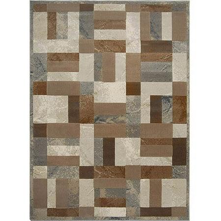 Fresco Collection (Home Dynamix Fresco Collection HD1242-451 Area Rug, Grey )