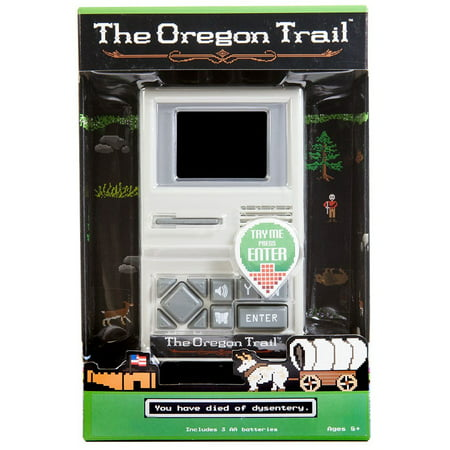 Milton Bradley Electronic Handheld Game - The Oregon Trail Electronic Handheld Game
