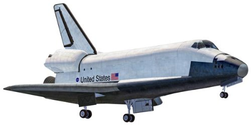 SnapTite Space Shuttle Plastic Model Kit, Wind New TECHNIC Challenger Teachers Students... by