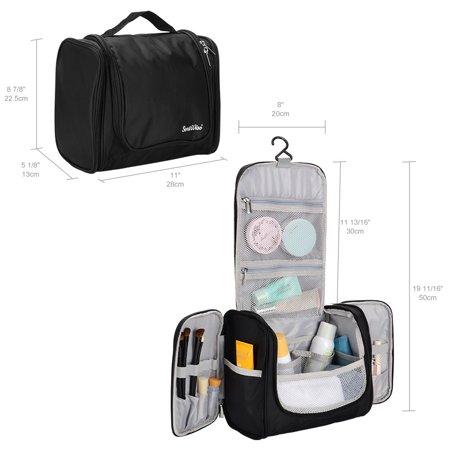 Portable Travel Toiletry Bag Waterproof Washbag Hanging Travel Kit - SortWise™ - image 4 de 5