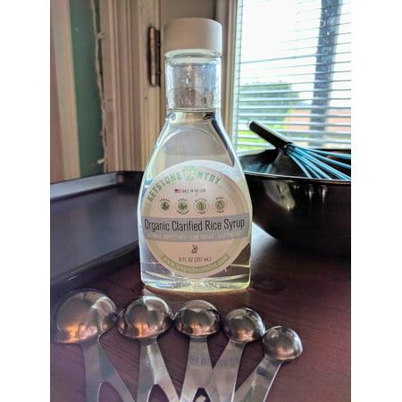 Keystone Pantry Organic Clarified Rice Syrup 8 fl oz Bottle