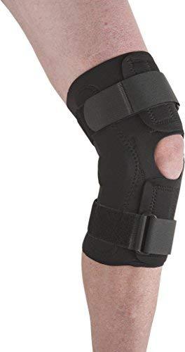 Ossur Neoprene Wraparound Knee Support Dual Hinged