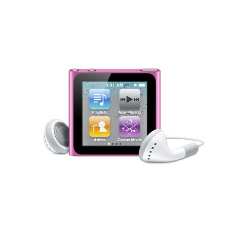 Apple Ipod Nano 6Th Generation 8Gb Pink Like New In Original Retail Box