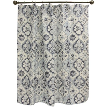 Click here for Bacova Guild Indigo Diamond Shower Curtain prices