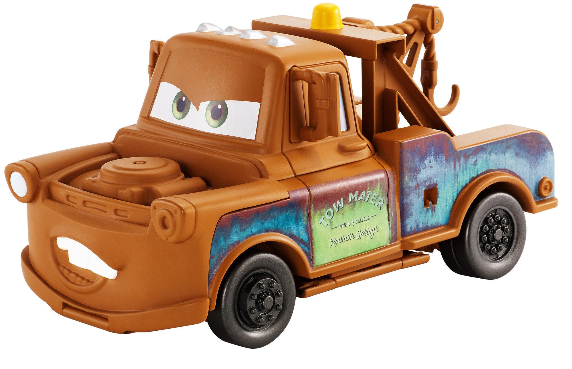 Disney Pixar Cars 3 Transforming Mater Playset by Mattel