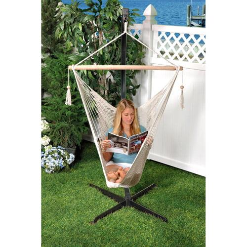Bliss Hammocks Tahiti Cotton Hammock Chair, Multiple Colors