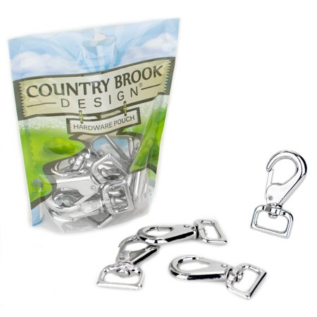 Country Single Lever (Country Brook Design | 1 Inch Swivel Lever Snap)