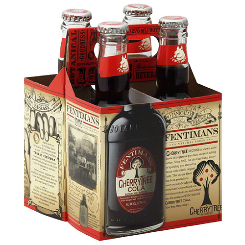 Fentimans CherryTree Cola, 4 count, (Pack of 6)