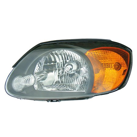 Fits 2003-2006 Hyundai Accent Driver Left Side Headlight Lamp