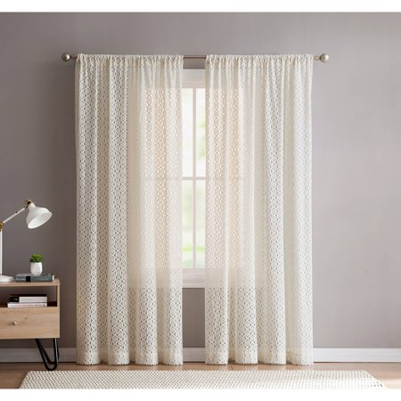 (Better Homes and Gardens Ikat Chains Curtain Panel)