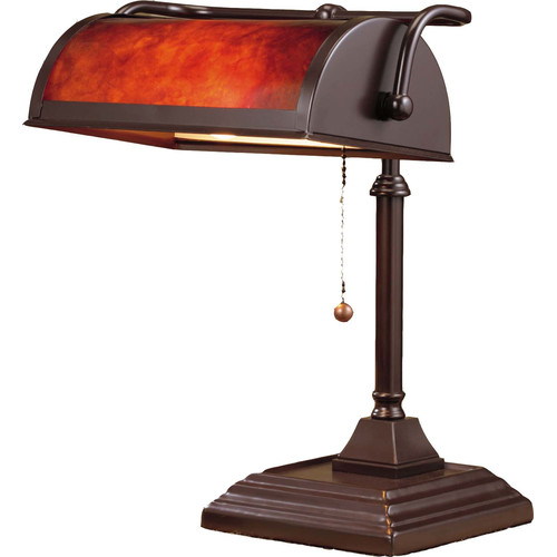 NormandeLighting 12'' H Table Lamp with Novelty Shade by NormandeLighting