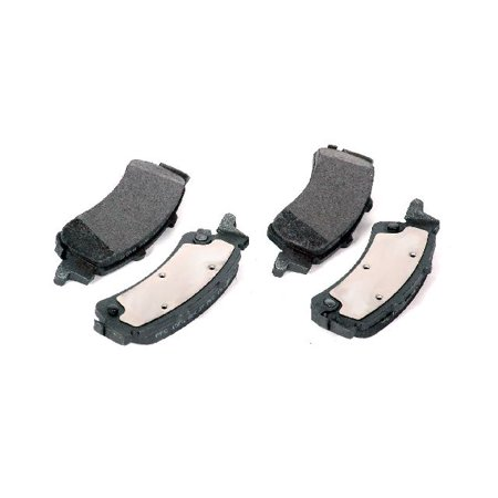Go-Parts OE Replacement for 1999-2006 GMC Sierra 1500 Rear Disc Brake Pad Set for GMC Sierra 1500 (Base / Denali / (Sierra 1500 Hybrid)
