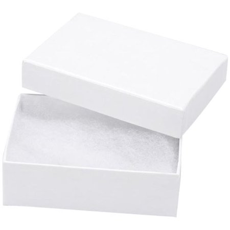 3-Inch 2 1/8-Inch 1-Inch Jewelry Box with Filler, 6/Pack, Multi-use cardboard jewelry boxes for jewelry display and packaging By Darice Ship from US](Cardboard For Sale)