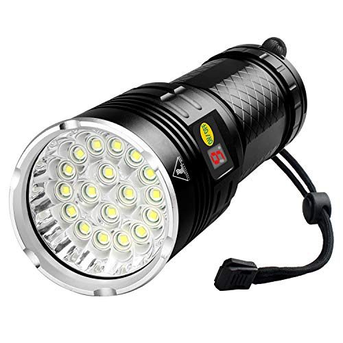 High Power 10000Lumen T6 LED Rechargeable Flashlight Aluminum Torch Bright Light