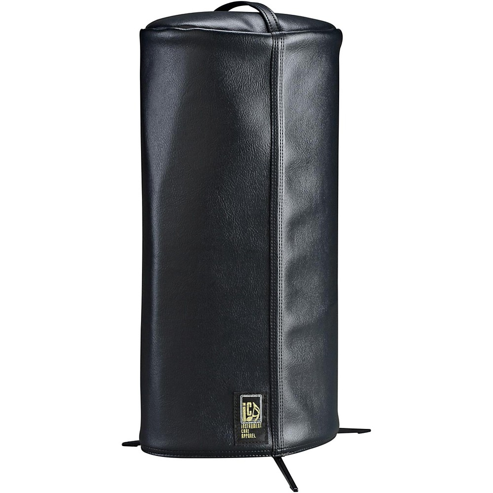 iCA Classic Cornet Cover in Faux Leather Black by iCA
