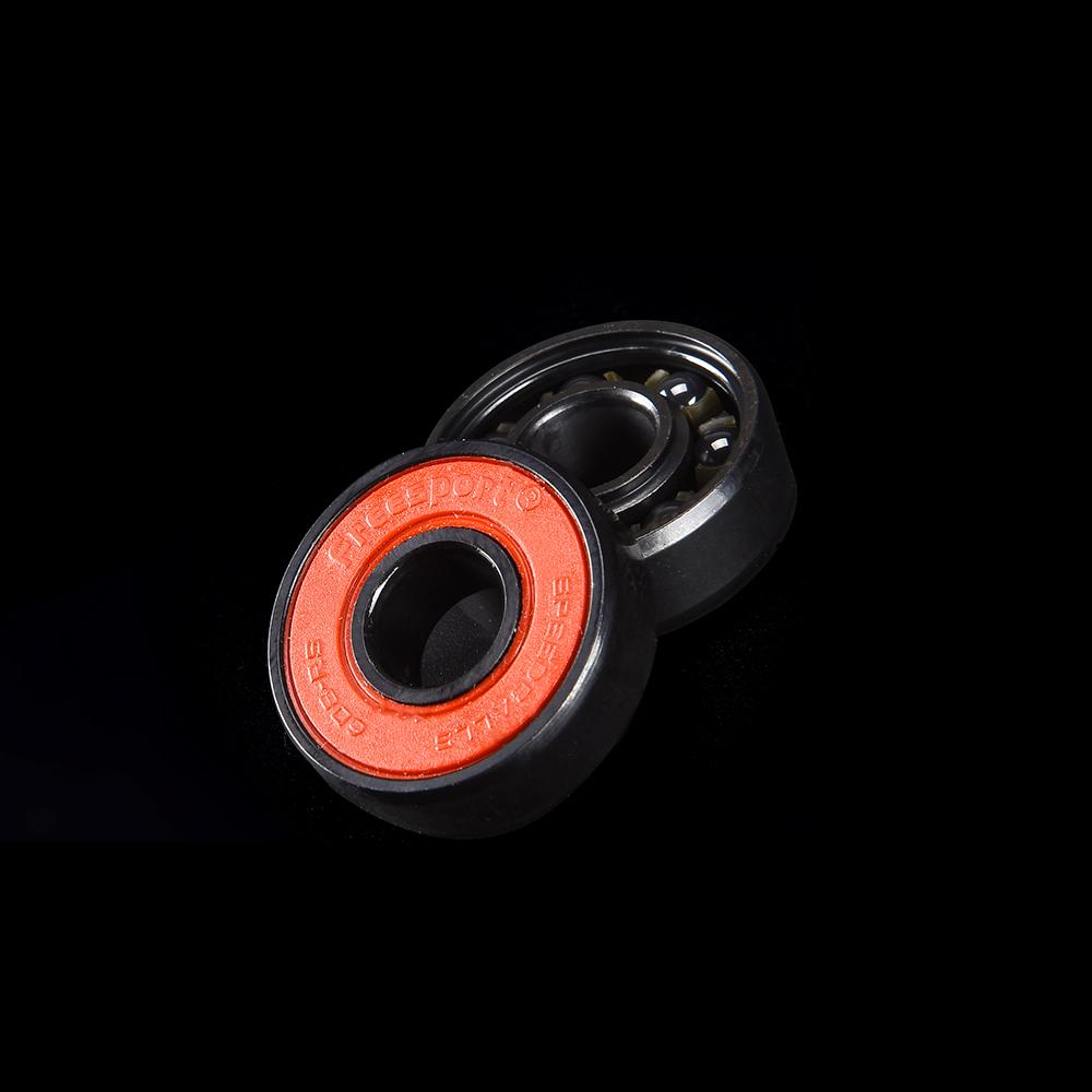 8 Pcs Skateboard Scooter 608 Ball Bearing Skate Roller Ball Bearings Kit OhhGo Skateboard Bearings