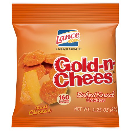 Lance Gold-N-Cheese Baked Snack Crackers, Single-Serve 1.25 Oz, 60 Ct](Halloween Snack Ideas For Kids)