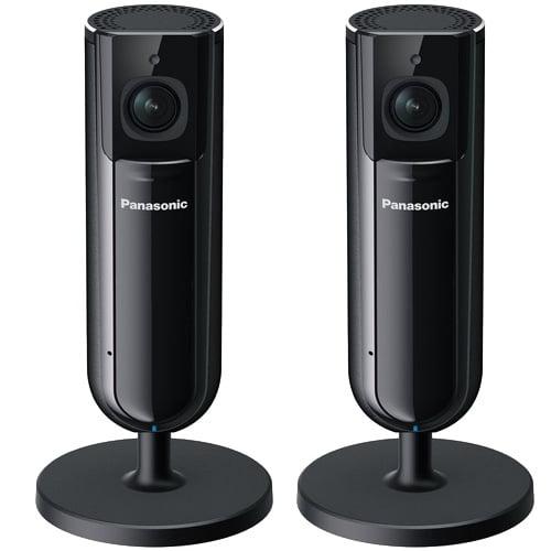 Panasonic KXHNC800B (2-Pack) Full HD Home Monitoring Indoor Camera