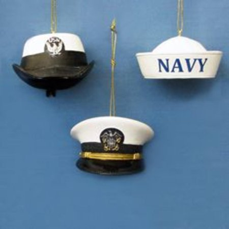 pack of 12 us navy military cap christmas ornaments 2