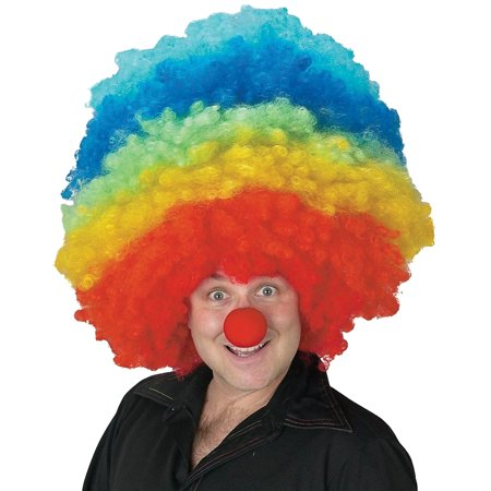 Mega Clown Adult Halloween Wig - Diy Clown Wig