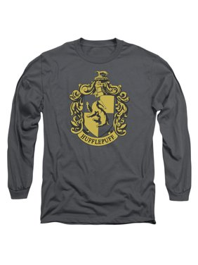 c36c0a779 Product Image Trevco HARRY POTTER HUFFLEPUFF CREST Charcoal Adult Unisex T- Shirt