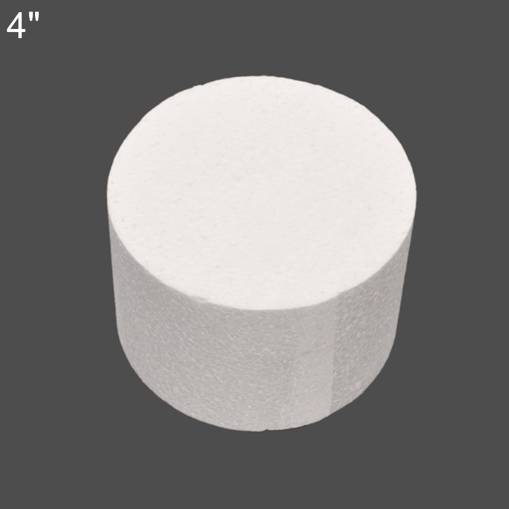 "Details about  /4//6//8/"" Styrofoam Foam Cake Dummy Sugar-craft Flower Decor Cake Foam Round Mould"