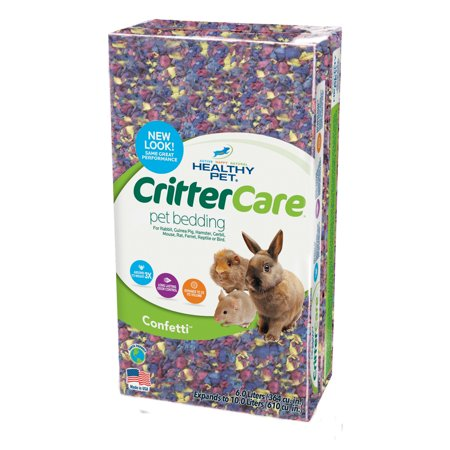 CritterCare® Small Animal Bedding, Confetti 10L