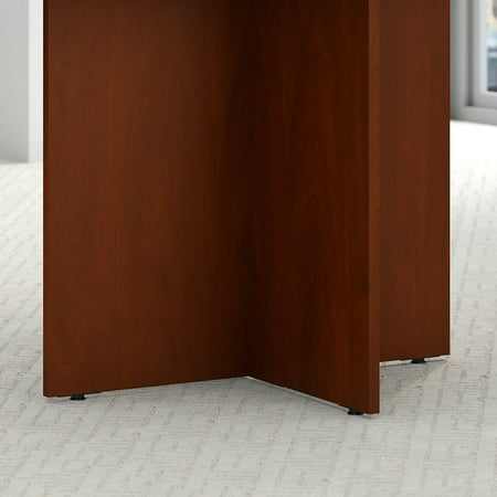 "Bush Business 42"" Round Conference Table in Hansen Cherry - image 3 de 6"