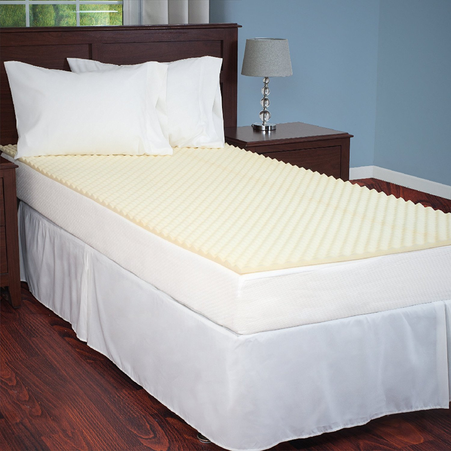 Egg Crate Mattress Topper Twin XL designed to add extra comfort