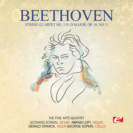 String Quartet No. 3 in D Major Op. 18 No. 3