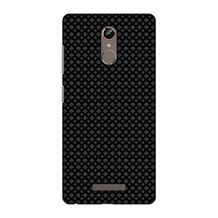 Gionee S6s Case, Premium Handcrafted Printed Designer Hard Snap On Case Back Cover with Screen Cleaning Kit for Gionee S6s - Carbon Fibre Redux (Rt5 Carbon)
