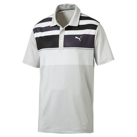 Puma Road Map Asym Polo Mens Golf Shirt 572207   New 2017