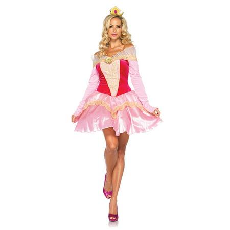 Adult Disney Princess Aurora Costume by Leg Avenue DP85052, - Princess Aurora Costume Adults