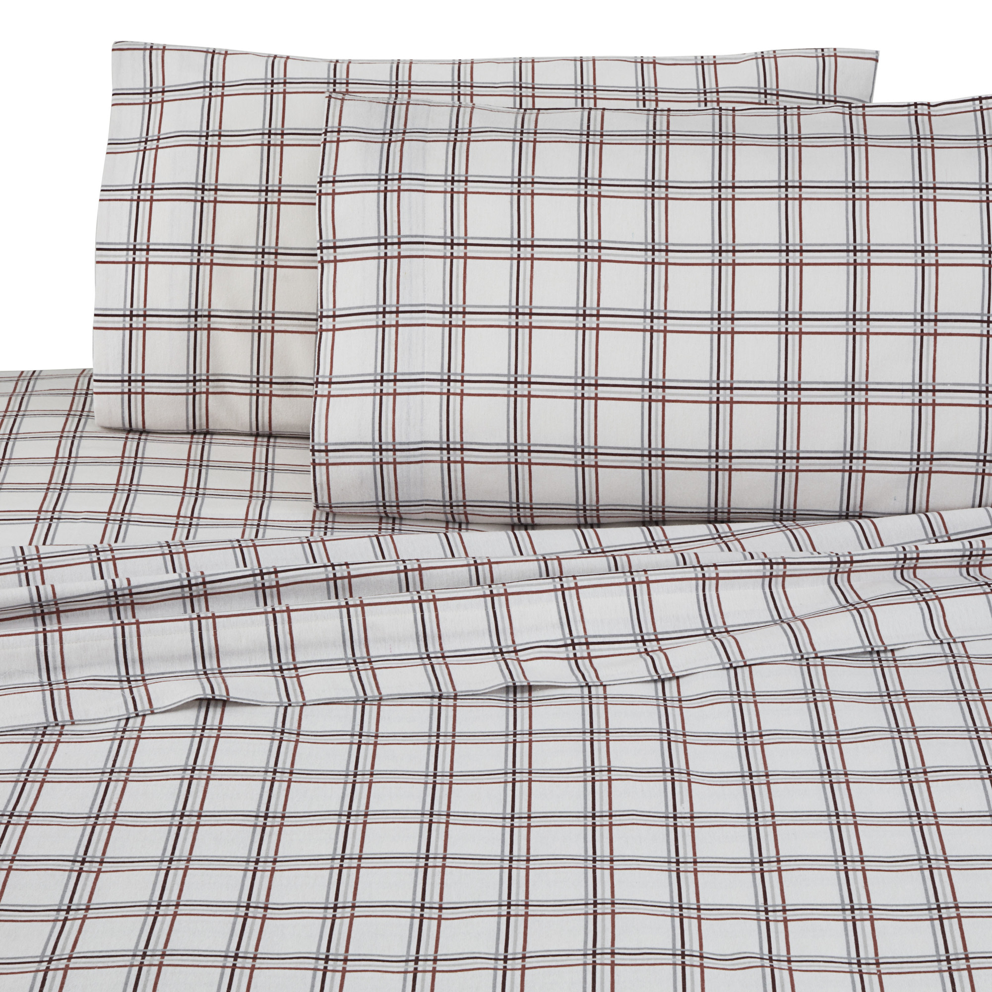 Vellux Super Soft and Cozy Flannel Sheet Set - Solid & Patterns Available