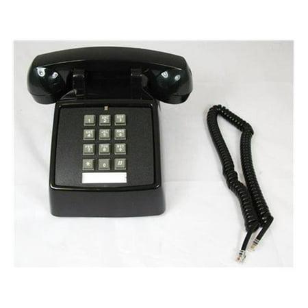 Cortelco ITT-2500-VOE-MD-BK Desk with Electric ringer - Black