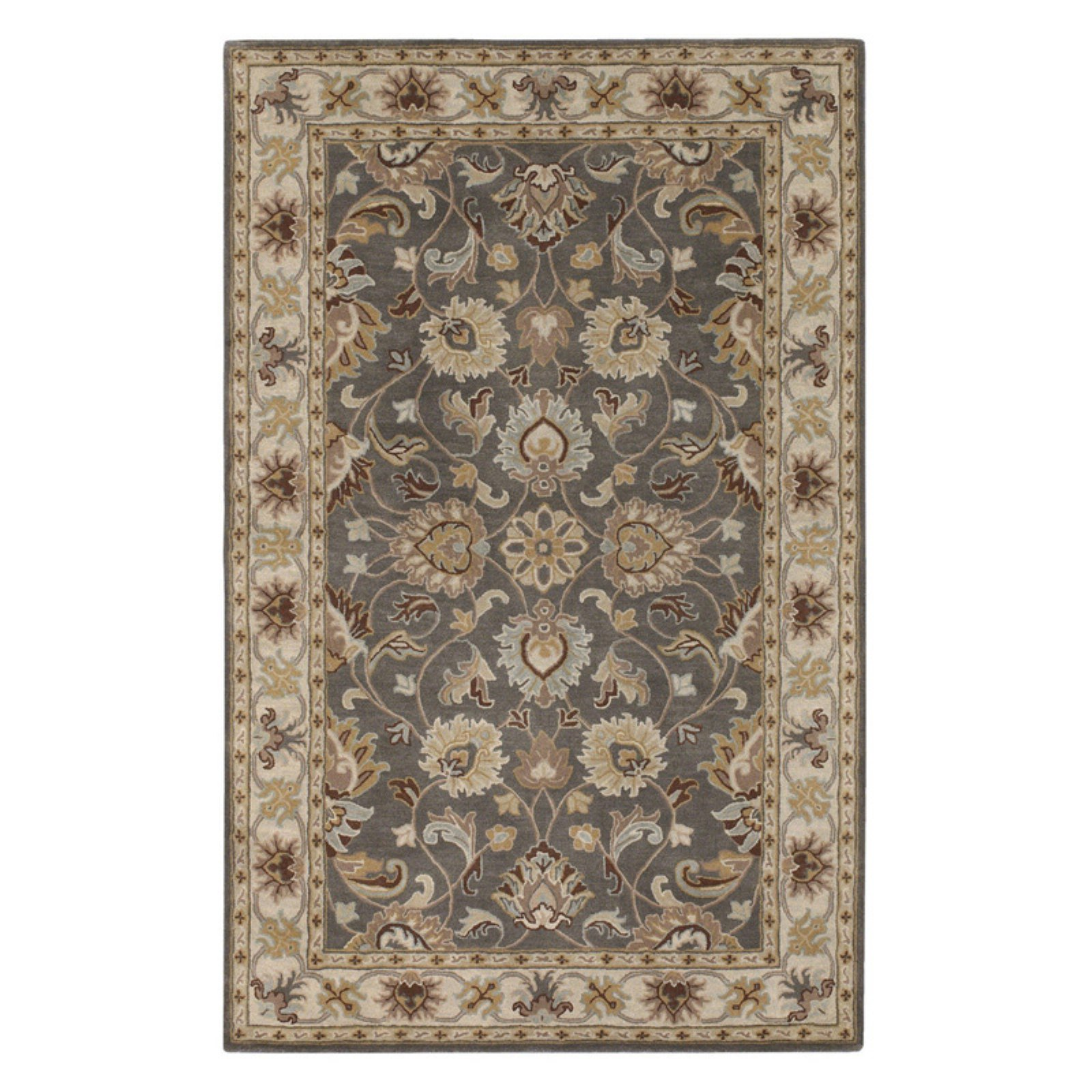 Surya CAE1005-811 Charcoal Caesar Collection Rug - 8 x 11 Ft