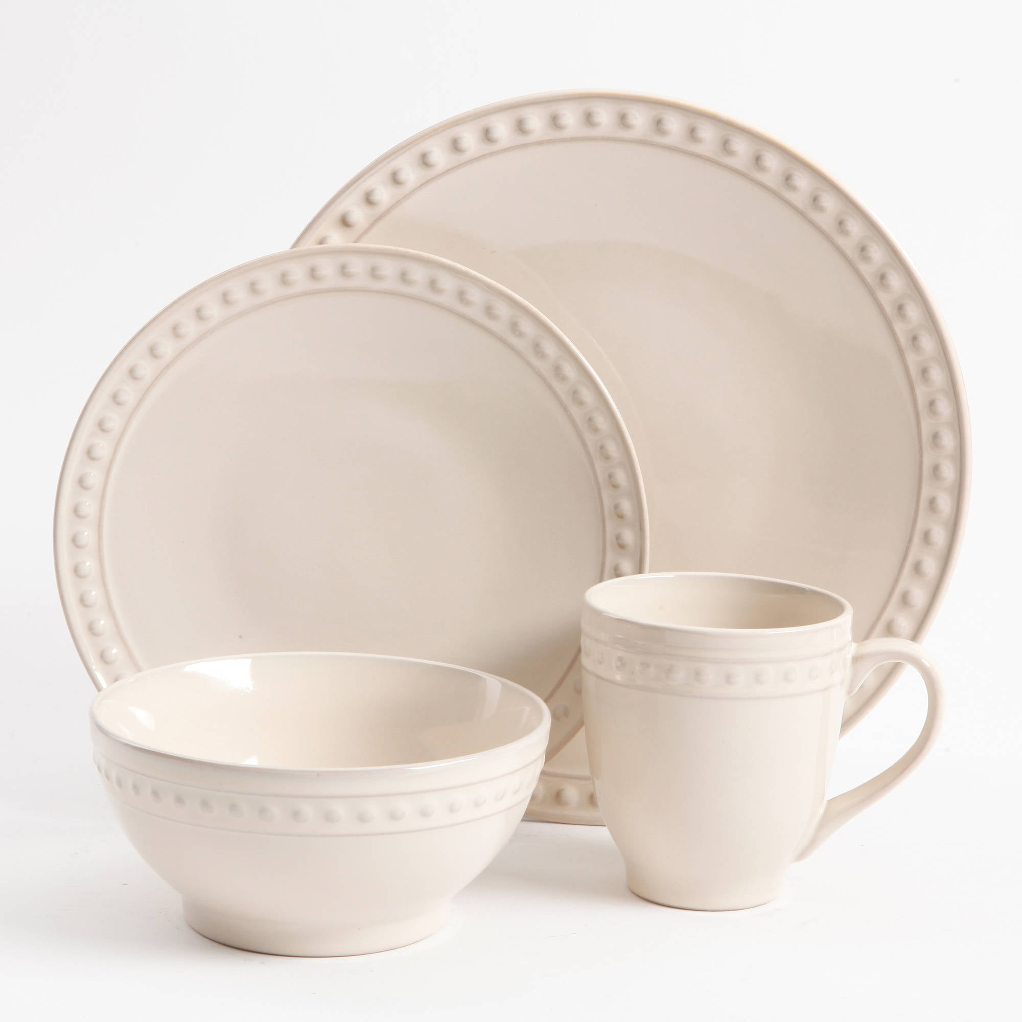 Better Homes and Gardens Amity 16 Piece Dinnerware Set Walmartcom