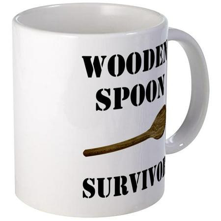 CafePress - Wooden Spoon Survivor Mug - Unique Coffee Mug, Coffee Cup CafePress