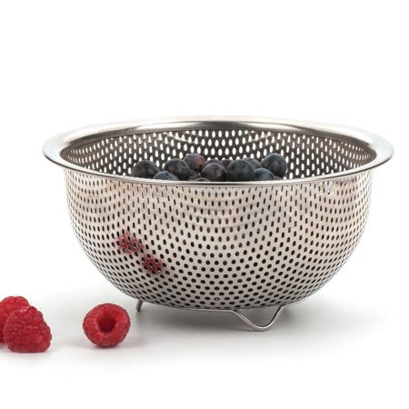 RSVP Precision Pierced COLANDER Steel Mini Berry Herb 6 3/8