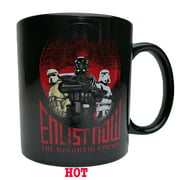 "Star Wars Rogue One ""Enlist Now"" 20oz Heat Change Mug"