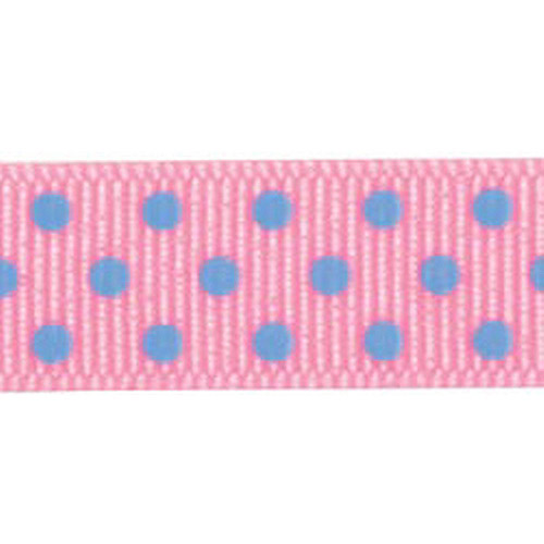"Offray Clear Confetti Dots Ribbon, 5/8"" x 3 yds"