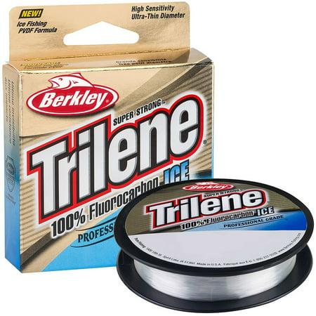 Berkley Trilene 100% Fluorocarbon Ice Line-110 YD Pony Spool