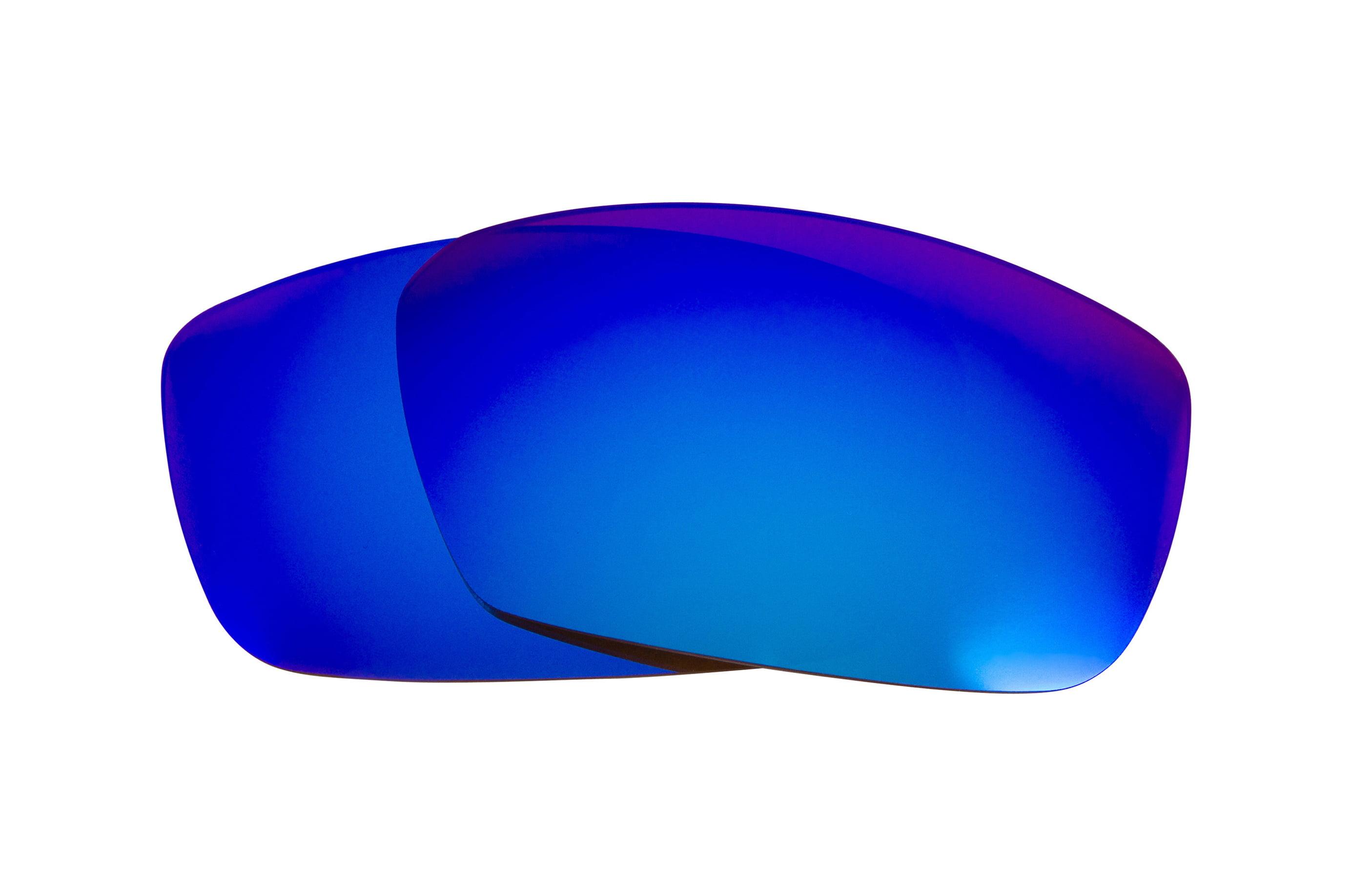 15cddb59534 Seek Optics - Best SEEK Polarized Replacement Lenses for Spy Optics DIRK  Blue Mirror - Walmart.com