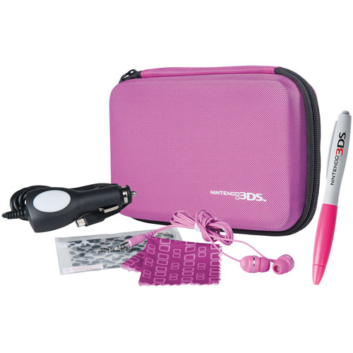 Power A DS/3DS Universal Travel Kit, Pink (DS/3DS)