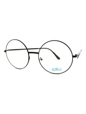 04c2d13c74 Product Image XL LARGE John Lennon Glasses Round Retro Clear Lenses  Sunglasses Nerd
