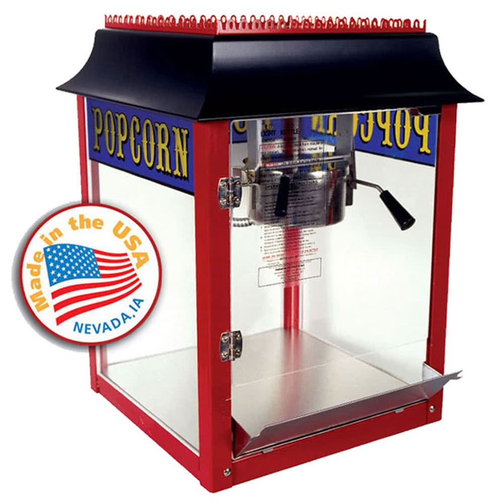1108910 8 oz. 1911 Original Popcorn Machine by TableTop king