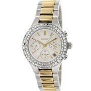 Women's Two-Tone Chambers Chronograph Watch NY2260