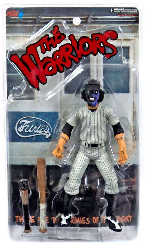 The Warriors Purple & Black Faced Baseball Fury Action Figure [Clean Version] by