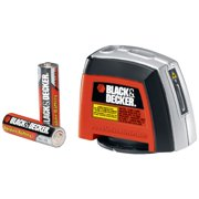 BLACK+DECKER BDL220S Laser Level with Wall-Mounting Accessories